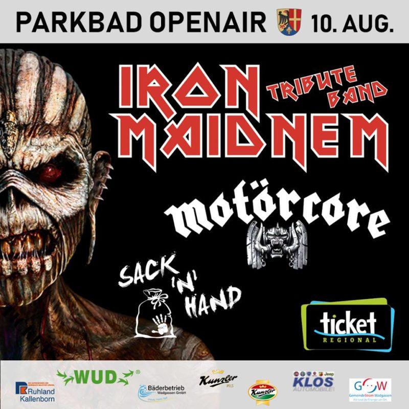Motörcore A Tribute to Motorhead OpenAir Wadgassen