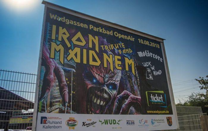 Motörcore Coverband Parkbad OpenAir Wadgassen