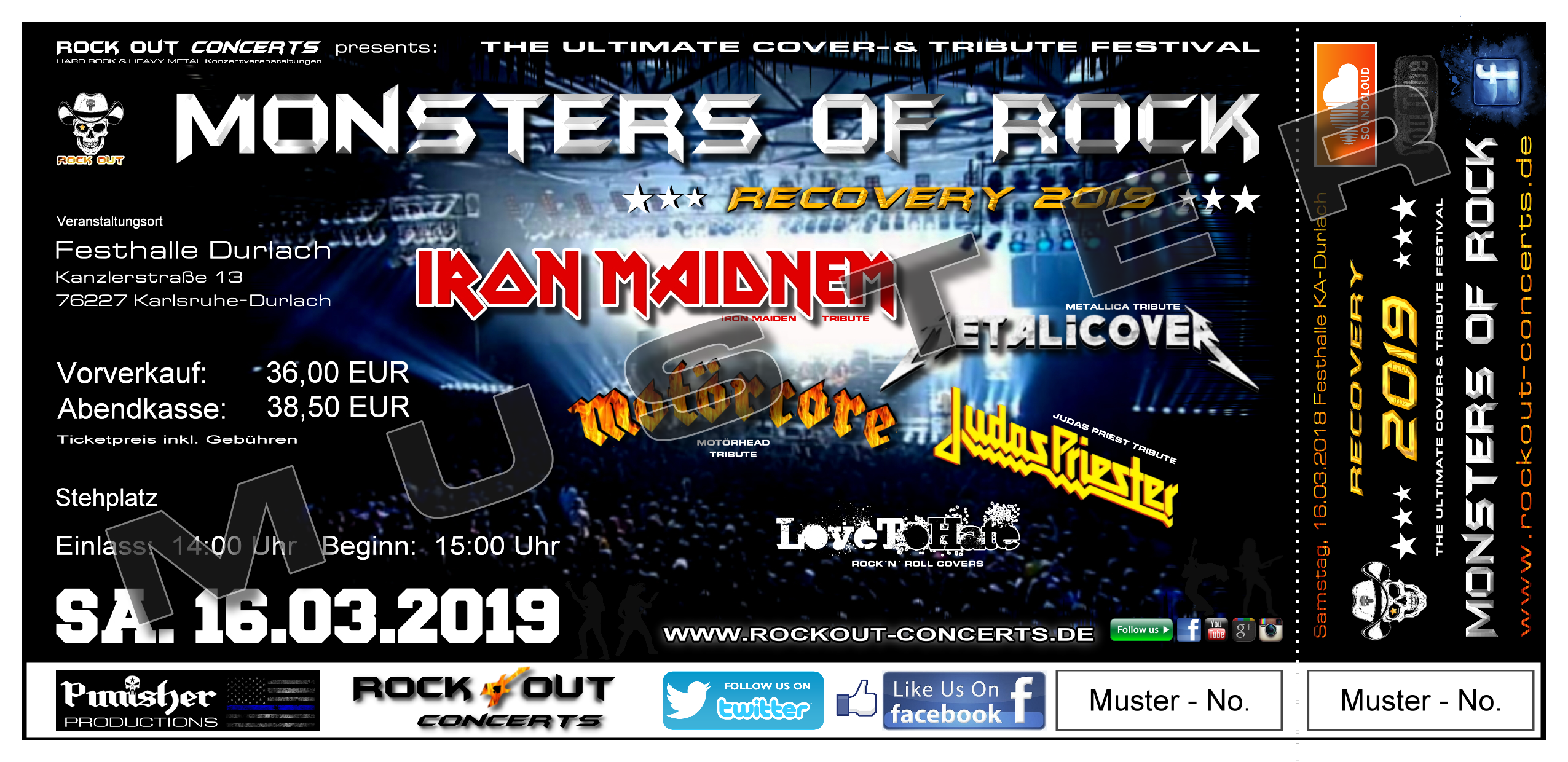 Monsters of Rock Festhalle Durlach