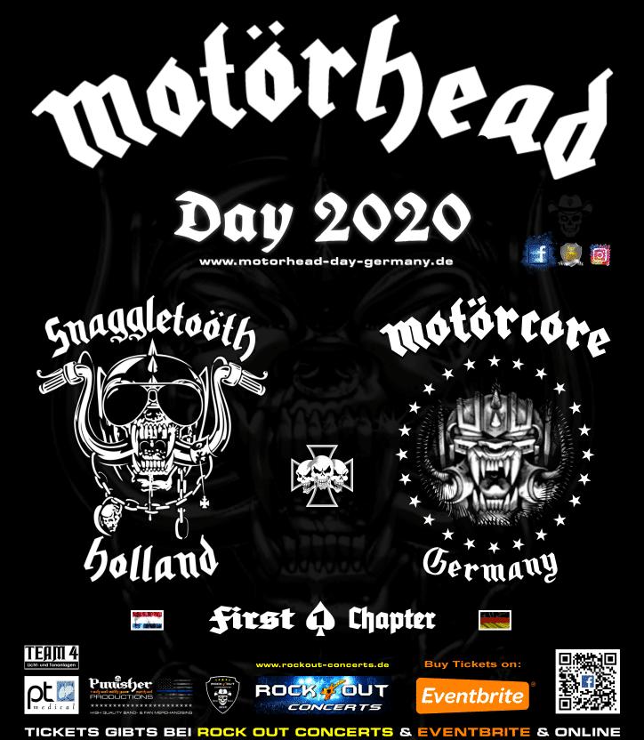 MOTÖRHEAD DAY 2020 Plakat